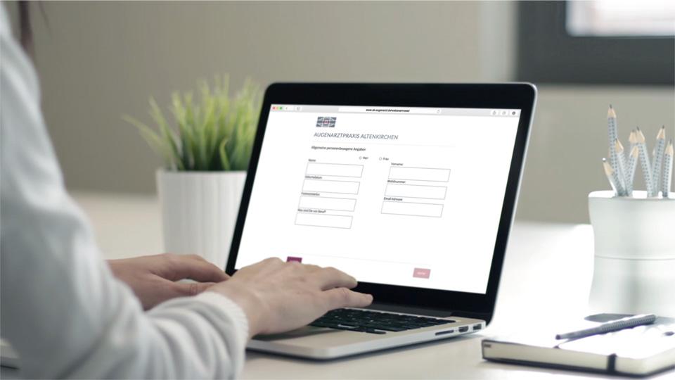 Anamnesebogen online ausfüllen