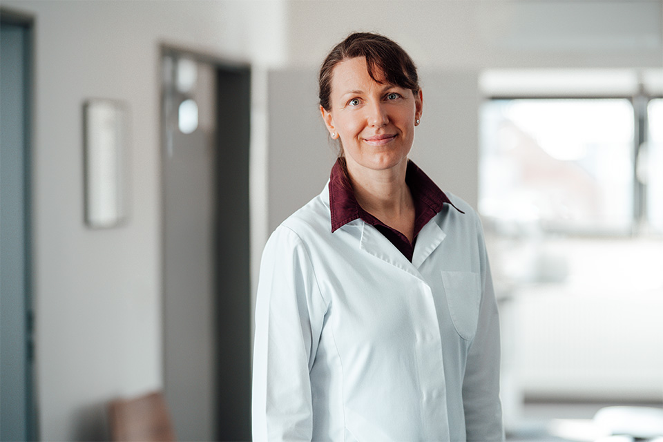 Augenärztin Jana Giesel