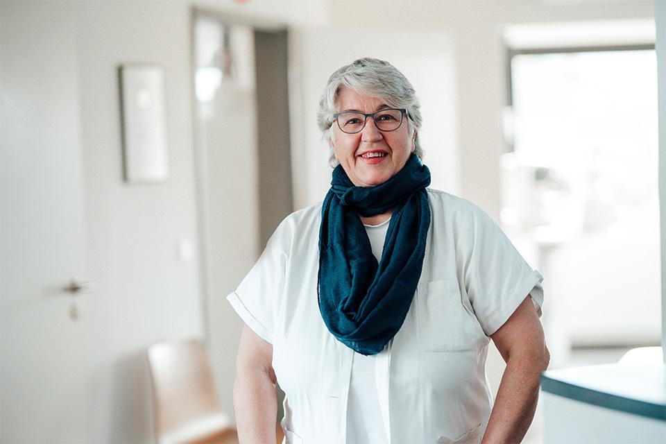 Orthoptistin Monika Lochner